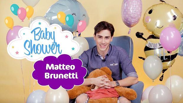 """Matteo Brunetti gościem drugiego odcinka naszego programu """"Baby Shower"""""""