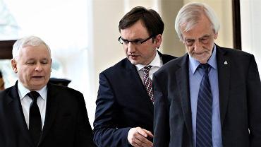 Kaczyński, Ziobro i Terlecki