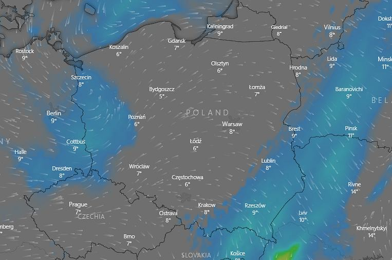 IMGW ostrzega przed intensywnymi opadami deszczu (zdjęcie ilustracyjne)