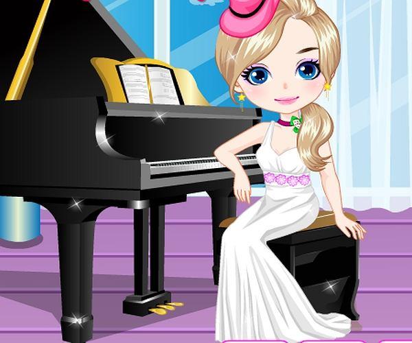 Ubieranka: pianistka