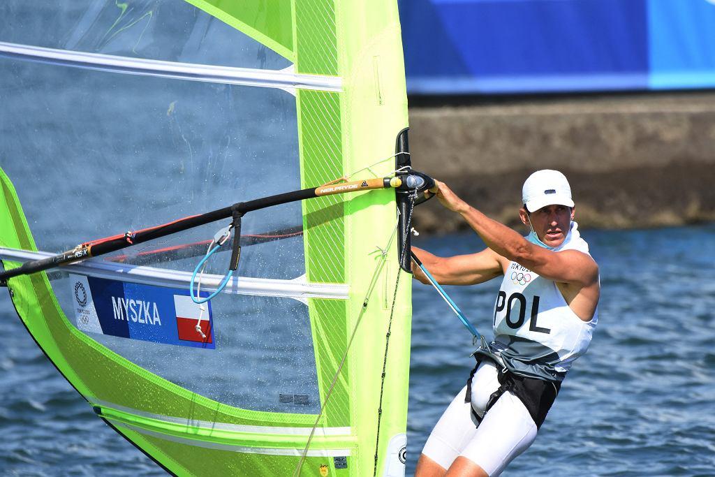 Piotr Myszka na Igrzyskach Olimpijskich w Tokio, 25 lipca 2021 r.