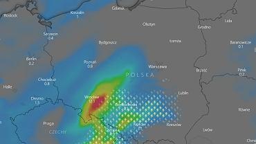 Gdzie jest burza? Do Polski wkraczają wyładowania znad Czech