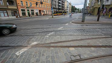 Wrocław. Ulica Pomorska na Nadodrzu idzie do remontu