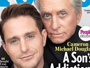Michael Douglas i Cameron Douglas
