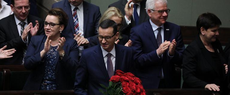 Jest wotum zaufania dla rządu Mateusza Morawieckiego. Sejm przegłosował wniosek