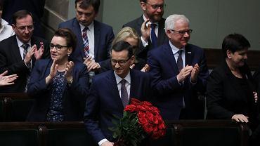Wotum zaufania dla rządu Mateusza Morawieckiego