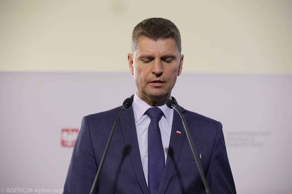 Piontkowski o odwołaniu go ze stanowiska ministra edukacji