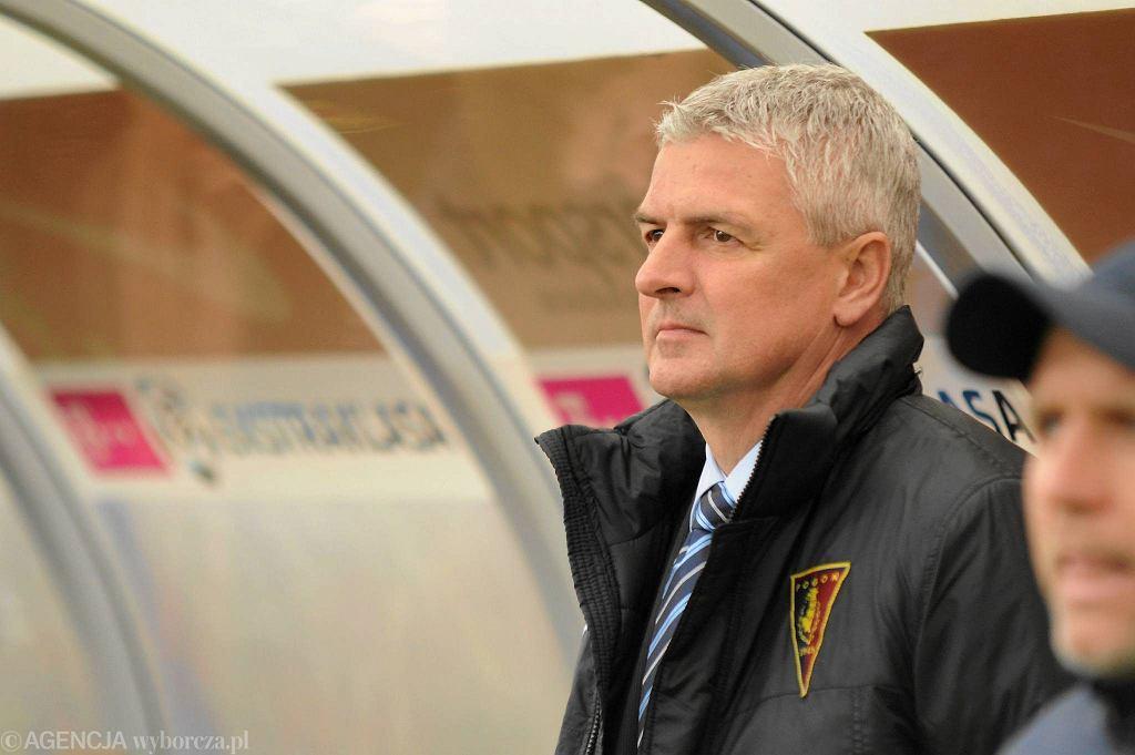 Trener Dariusz Wdowczyk