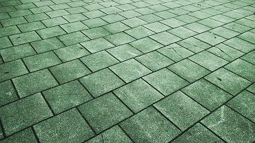 Zielony beton potrafi 'zjadać' smog