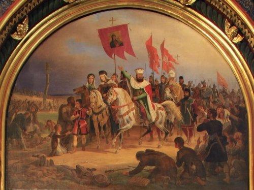 Zdjęcie numer 13 w galerii - 1050. rocznica chrztu Polski. Bez brody, z wąsem, albo z papierosem - różne wizerunki Mieszka I
