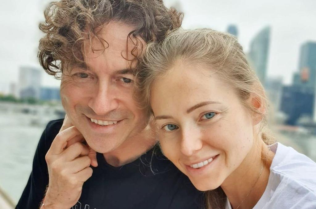 Piotr Rubik i Agata Rubik świętują 14. rocznicę ślubu