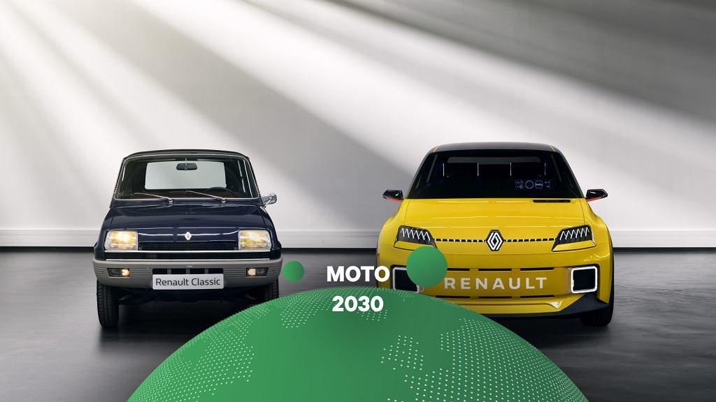 2 x Renault 5, klasyczne i elektryczne