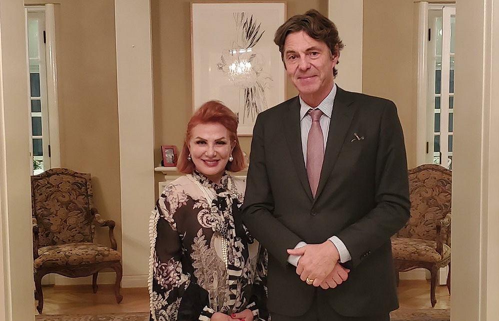 Ambasadorowie USA i Niemiec