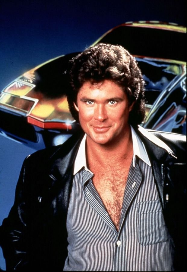 KNIGHT RIDER   [US TV SERIES 1982 - 1986]   DAVID HASSELHOFF     Date: