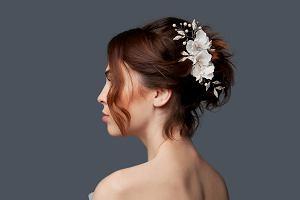 Fryzury na wesele: krótkie włosy