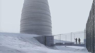 Wizualizacja budynku The Arc