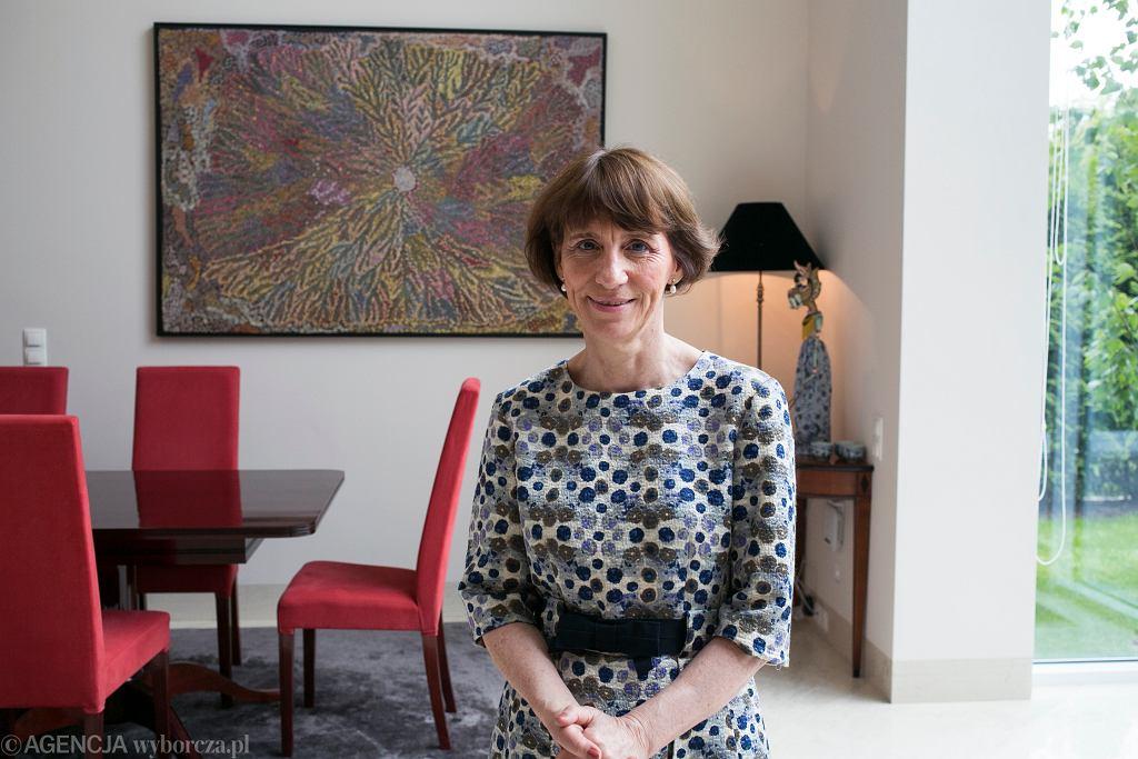 ,Pani Ambasador Australii w swojej rezydencji