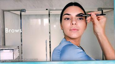 Kendall robi poranny makijaż w kilka minut.