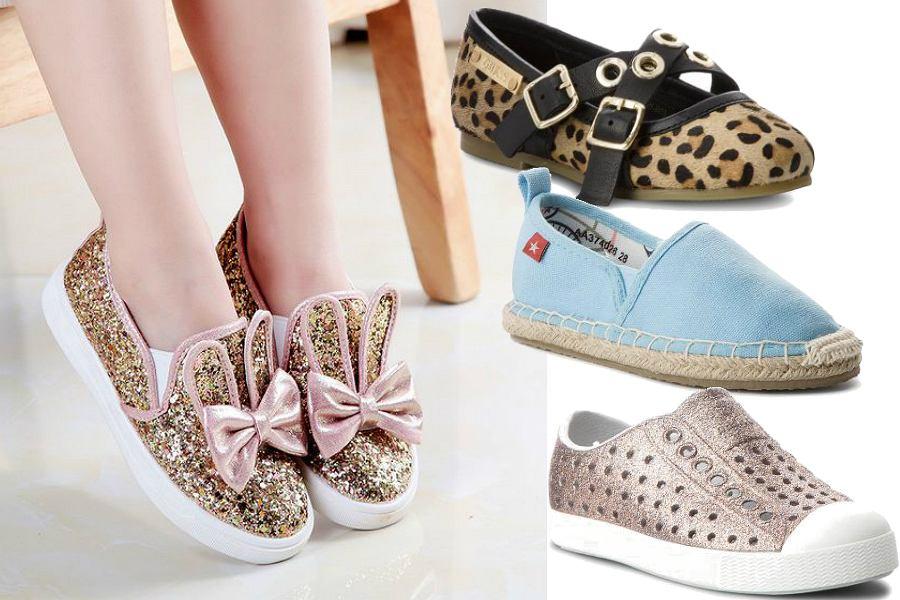 Buty wiosenne dla dziewczynek