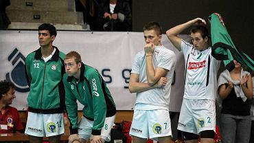 Mecz Indykpol AZS Olsztyn - Wkręt-Met AZS Częstochowa. Rafael Batista da Silva (z nr 12), Jonas Kvalen (z nr 2)