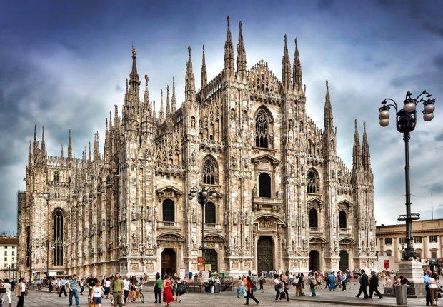 Gotycka katedra w Mediolanie/ Fot. Shutterstock