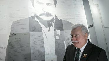 Lech Wałesa w ECS