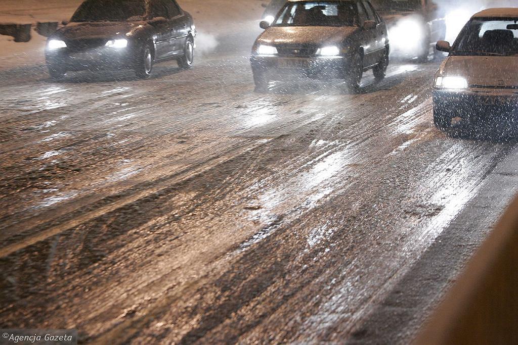 Pogoda w Łodzi. Na drogach będzie ślisko