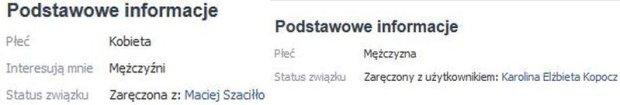Karolina Kopocz, Maciej Szaciłło