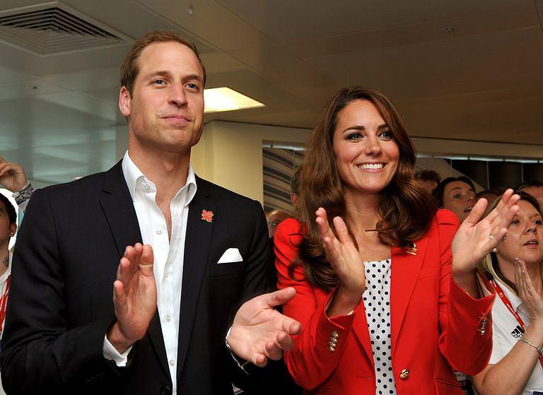 Księżna Kate i książę William na igrzyskach w 2012 roku