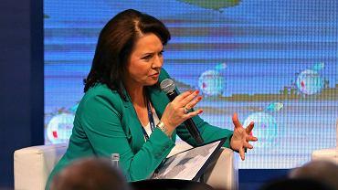 Forum Ekonomiczne w Krynicy. Danuta Holecka