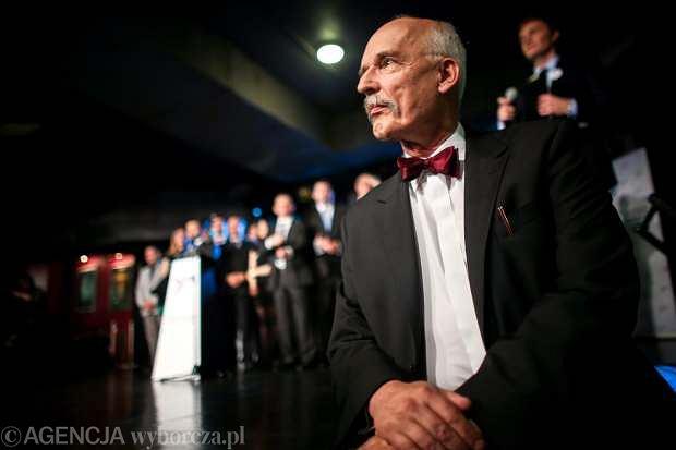 Przewodniczący Kongresu Nowej Prawicy Janusz Korwin-Mikke