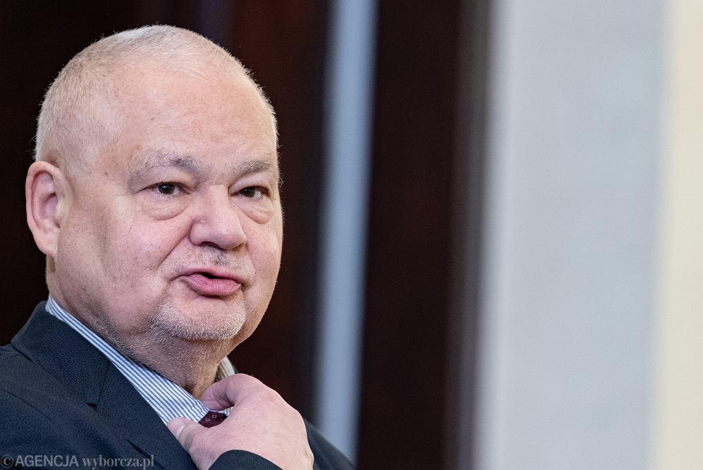 Prezes NBP Adam Glapiński. Warszawa, 24 stycznia 2020