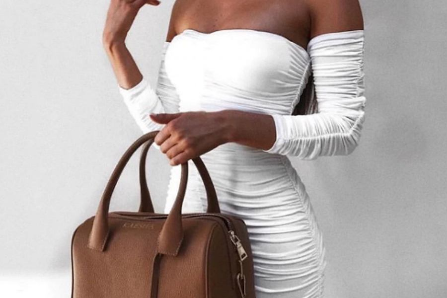 a18d9764b6fe6 Sukienki i spódnice z marszczeniami. Najładniejsze modele