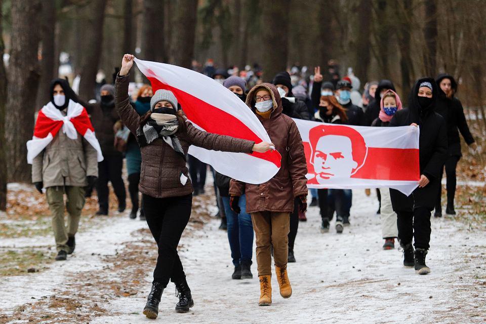 Protesty w Mińsku, 13.12.2020
