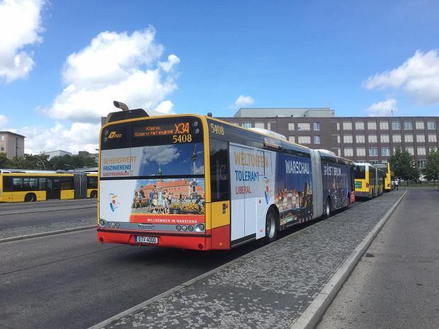 Warszawski autobus w Berlinie