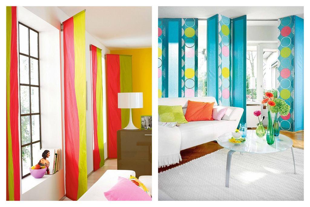 Pomysły na panele okienne z wykorzystaniem tkanin