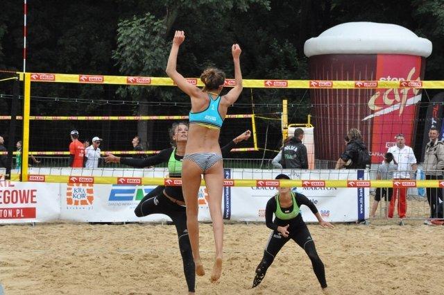 Mistrzostwa Polski w siatkówce plażowej w Krakowie