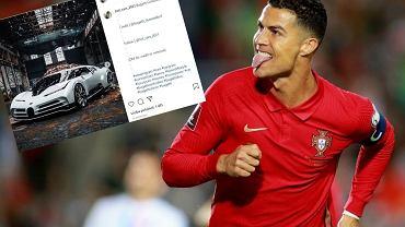 Ronaldo wydał fortunę na nowy samochód. Kosztował tyle, co stadion Korony Kielce