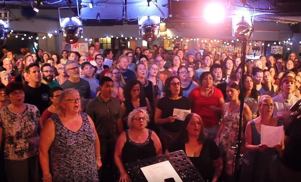 Choir! Choir! Choir! sings Grease - You're The One That I Want