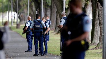 Ataki na meczety w mieście Christchurch. Zamachowcy strzelali do ludzi, jest wiele ofiar. Nowa Zelandia, 15 marca 2019