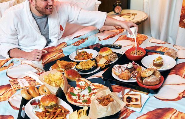 W pokoju typu 'bread&breakfast' ciężko być głodnym