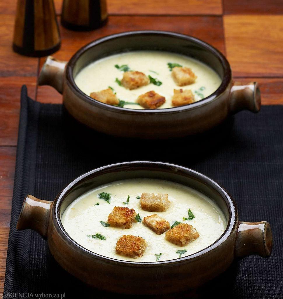 Zupa-krem z cykorii
