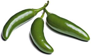 Papryczki chili: kuchnia ostra jak diabli, kuchnia, kuchnie świata, Jalapeno