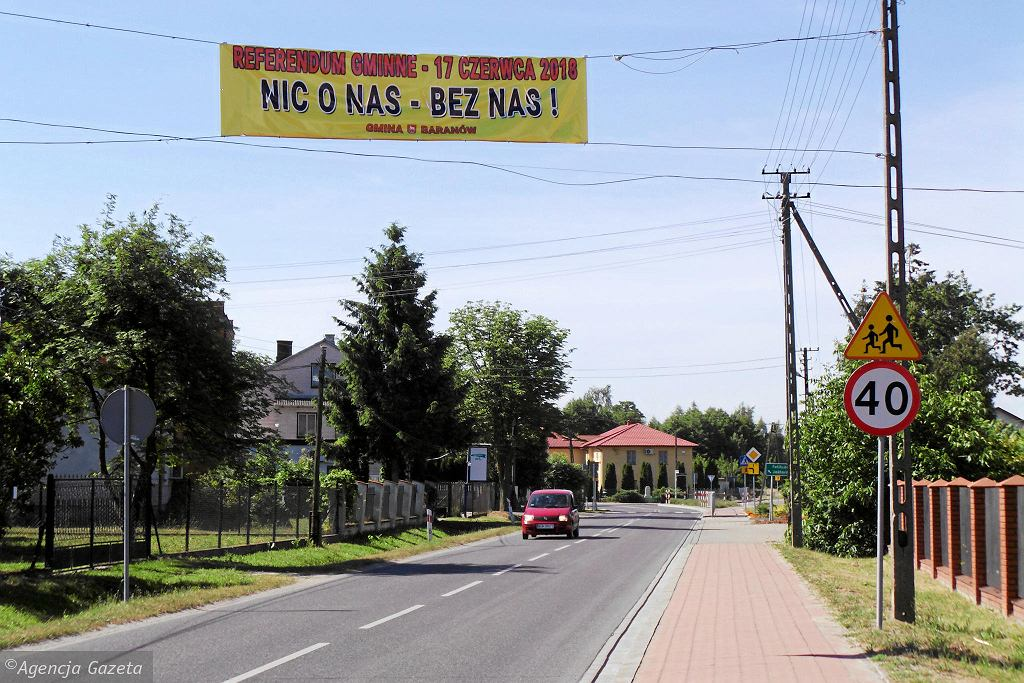 W gminie Baranów ma powstać Centralny Port Komunikacyjny