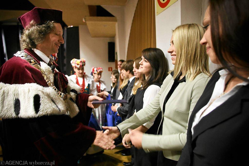 Inauguracja nowego roku akademickiego na Uniwersytecie Śląskim