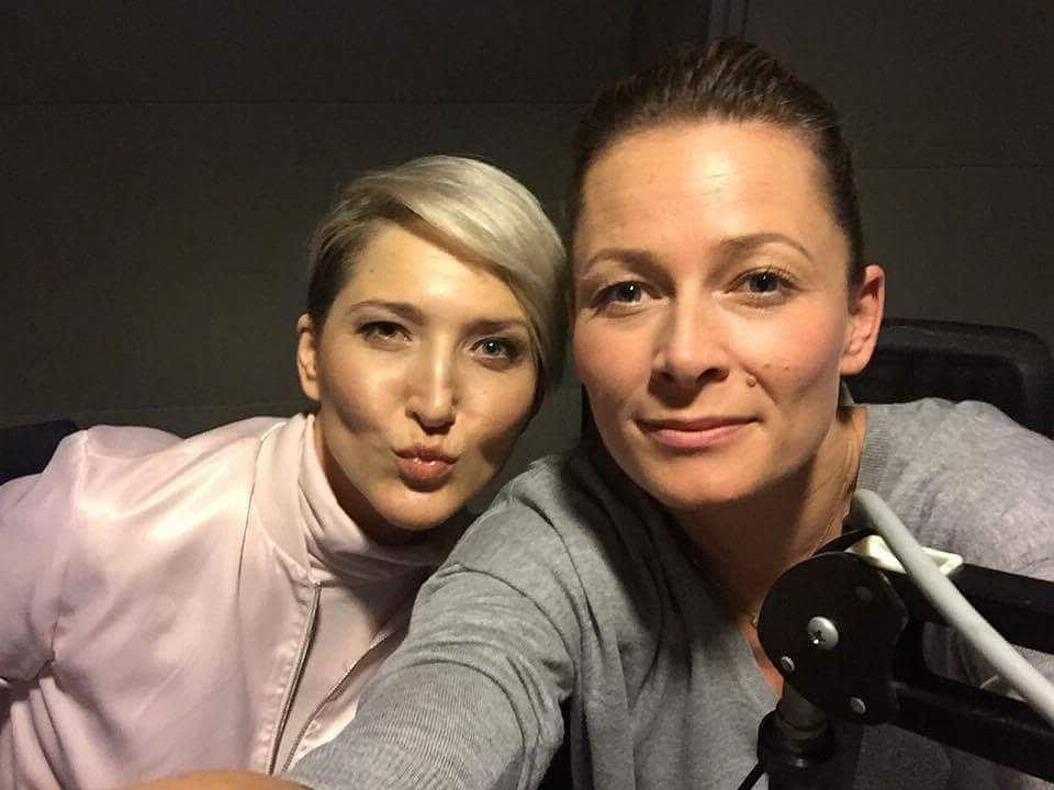 Odeta Moro i Magda Steczkowska w programie 'Morowym Weekendzie'