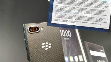 To może być koniec smartfonów BlackBerry