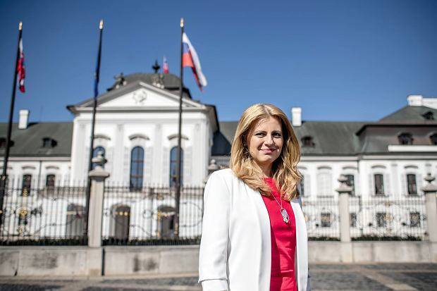 prezydentka Słowacji Zuzana Czaputowa