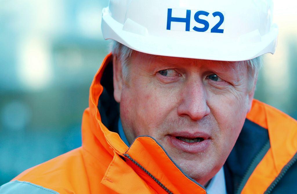Boris Johnson chce zbudować most między Szkocją a Irlandią.