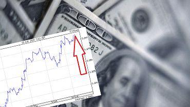 Kurs dolara idzie w górę